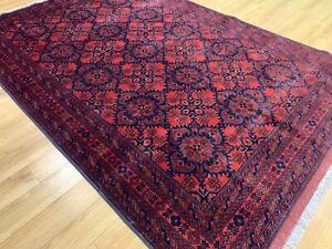 Large Persian Handmade Knotted Wool Rug Carpet,Oriental Floor Room Area 3x2 M