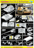 Dragon 6728 1/35 8.8cm Pak 43 Waffentrager Model