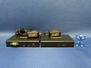 IO Gear GCE500U Remote & Local USB VGA KVM Console Extender