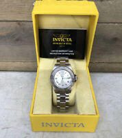 Invicta Pro Diver All Stainless Steel 200 M Waterproof Watch Mens Large New Box