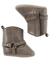 Carter's NWT 6-9 M / 3 9-12M / 4 Infant Girl Riding Boot Crib Shoes