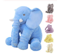 Blue Elephant Stuffed Plush Toy 40cm