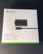 Official Microsoft XBOX ONE Play & Charge Kit NEW