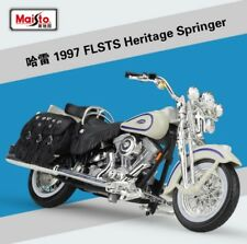 1:18 Maisto Harley Davidson 1997 FLSTS Heritage Springer Bike Motorcycle New