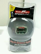Brand New Sportline Calorie Step Distance Pedometer WS2795CL