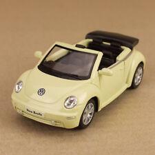 2003 Cream Volkswagen New Beetle Convertible 1:32 12.5cm Diecast Detailed Model