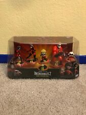 New Incredibles 2 Family Figurine Pack
