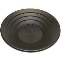 Gold Pan 34 cm 14 inch Black Plastic Gem Fossicking Panning Prospecting Detector