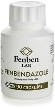 Fenbendazol 222mg, Purity >99% Fenben Lab, Third-Party Test Results, 90 capsules