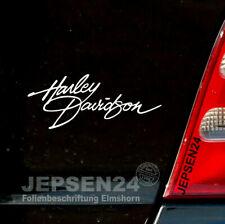 Harley Autocollant 18 cm hd2-Grande Sélecteur De Couleurs Pour Voiture Moto Motard Décalque