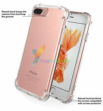 -YPWH Hybrid Rubber Shockproof Soft TPU Clear Cover Case For Call Phone Apple