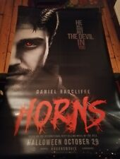 Cinema Banner: HORNS 2014 (Daniel Radcliffe) Juno Temple