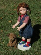"Donna Rubert porcelain Hanna doll 24"""