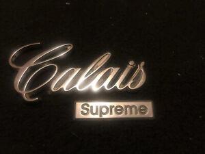 "Vintage OEM Oldsmobile ""Calais"" Script Emblem, Cutlass  Genuine GM"