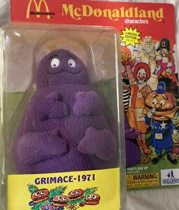 "McDonalds""Grimace 1971"" by Huckleberry Toys 4 Arm Evil Grimace SDCC Only 500"