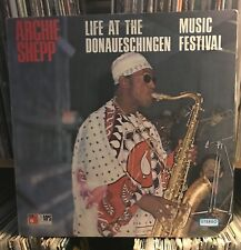 Archie Shepp *Life at the Donaueschingen Music Festival* NM LP BASF 20651 live