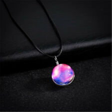 Gift Transparent Glow In The Dark Jewelry Glass Ball Pendant Luminous Necklace