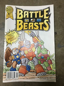 Battle Beasts 1 First Appearance Hasbro Blackthorne