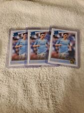 2018-19 Donruss Soccer Phil Foden Rated Rookie RC Lot 3