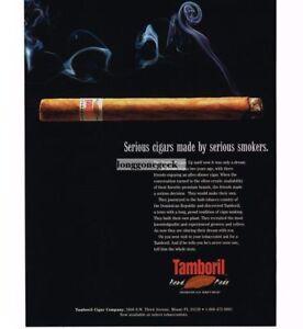 1997 Tamboril Cigars Vintage Print Ad