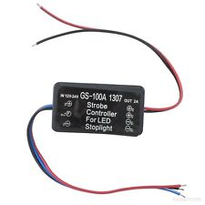 Brake Strobe Light Relay 12-24 Volt Flash Alert Controller Module Blink