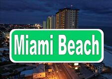 Florida street SIGNE reproduction Street Sign Miami Beach Street Sign