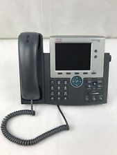 Lot of 4 Cisco 7945G- CP-7945G Unified IP VoIP Phones-Used