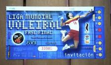 Entrada Fase Final LIGA MUNDIAL VOLEIBOL 2003 (VOLLEYBALL, WORLD LEAGUE FIVB)