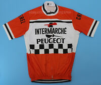 Peugeot Retro Cycling Jersey Short Sleeve