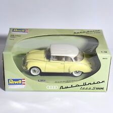 Revell 08410 Auto Union 1000S Sportcoupe in gelb weiss lackiert, OVP, 1:18, K015