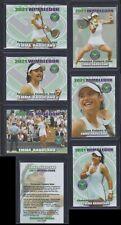 6) 2021 EMMA RADUCANU * WIMBLEDON* Tennis card *UNLIMITED edition* ALL Six cards