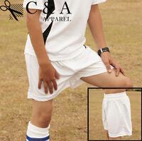 New Kids Boys Girls Plain Sports Soccer Football Shorts Casual Wear Anti Bateria