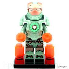 Custom Scuba Iron Man  MK 37 Minifigure Marvel fits with Lego UK Seller