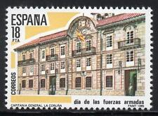 España Día de las Fuerzas Armadas estampillada sin montar o nunca montada 1985 SG2802