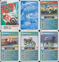 "Simba Toys Spielkarten ""Speed Bikes"" 1998 (S, Quartett-Nr. 680237) Z 0-1"