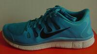 NIB Nike Men's Shoe Blue/White Free 5.0+ Sneakers 579959-403 Sz 12