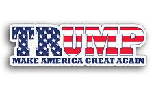 Donald Trump Make America Great Again Bumper Sticker Decal Car Truck Window Flag