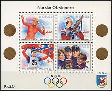 Norway 1989 SG#MS1064 Winter Olympic Games MNH M/S #A92945