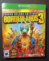 Borderlands 3 Super DELUXE Edition [ STEELBOOK Pack ] (XBOX ONE) NEW