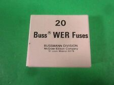 Buss Wer Fuses -- 3A -- (Lot of 20) New