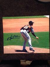 Fautino de los Santos Signed Autographed 8X10 Baseball Photo Single Auto Picture