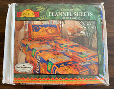 The Lion King Flannel Twin 3 Piece Sheet Set Simba Vintage Disney 90's