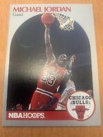 Michael jordan guard card NBA Hoops Chicago Bulls