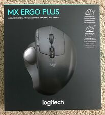 Logitech MX ERGO Plus Wireless Trackball Mouse, New in Retail Box