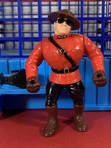WWF Hasbro S5 The Mountie MINT!! Action Works!! Titan Sports