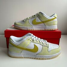 ✅IN HAND ✅Nike Dunk Low Strike Yellow Size UK 9