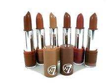 W7 Satin Cruelty-free Lipsticks