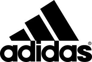Adidas Logo Iron On Transfer Light/Dark Fabrics