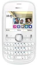 NUOVO NOKIA ASHA 200 Dual Sim-Pearl Bianco (Sbloccato) Smartphone QWERTY