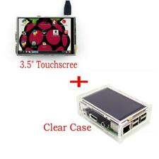 Display lcd TFT SPI 3.5'' touch screen 320x480p + box acrilico per Raspberry Pi